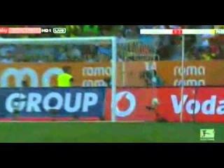 FC Augsburg -- Borussia Dortmund 0-2 Aubameyang