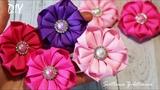 Цветы из репсовых лент ? Beautiful flowers from ribbons ? Svetlana Zolotareva