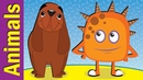 Animals Song for Kids Animal Sounds Actions Song Kindergarten ESL Fun Kids English