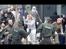 Gewalt gegen deutsche Polizisten - Kriminelle Flüchtlinge Der Alltag der deutschen Polizei