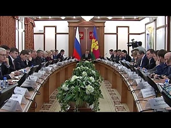 Губернатор Кубани провел совещание по исполнению майского указа президента РФ