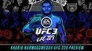 EA SPORTS UFC 3 Khabib Nurmagomedov UFC 229 Preview