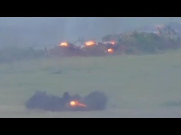 Бой! Разведгруппа ВСУ даёт прикурить российским боевикам на Светлодарской Дуге Донбасс