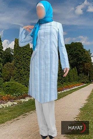Женская мусульманская одежда теплый стан
