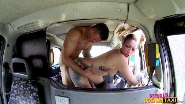 FemaleFakeTaxi – Ava Austen – Male Stripper Fucks Sexy Cab Driver