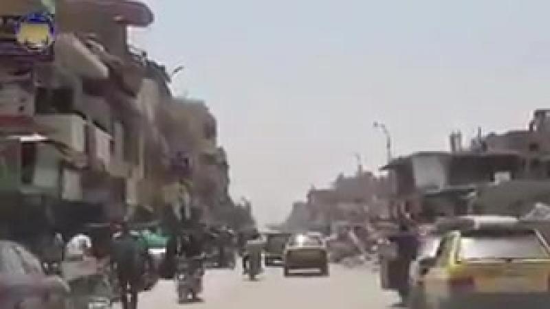 Почти год тому назад поддерживаемые США СДС освободили город Ракка от ИГИЛ. Вот как он выглядит сегодня.