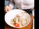 Любовь на расстоянии - это когда вы на работе, а лапша wok с броколли и свининой в Дружбе