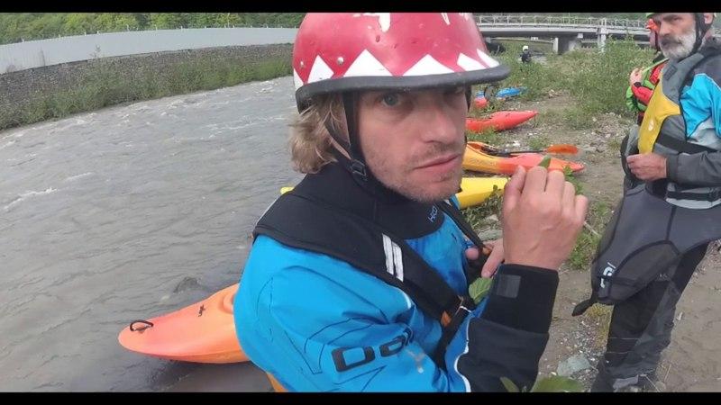 SochiKayakCamp2017 Kayak'n'roll