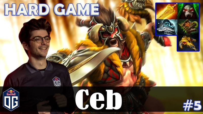 Ceb - Beastmaster Offlane | HARD GAME | Dota 2 Pro MMR Gameplay 5