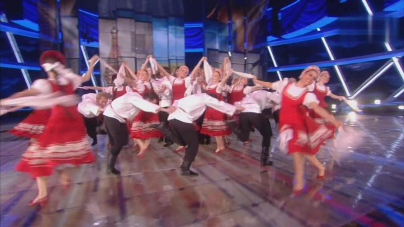 Россия Русские Русский танец Светит месяц светит ясный Исполняет Ансамбль народного танца имени Игоря Моисеева редкое в