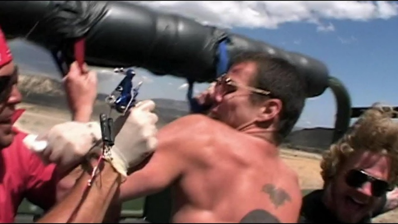 Jackass The Movie 2002 Off Road Tattoo HD
