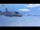 Unsuccessful air refueling F-35