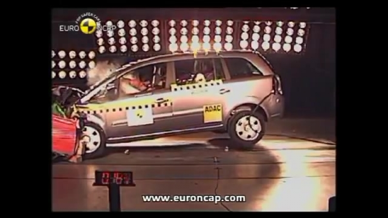 Opel Zafira B Crash Test