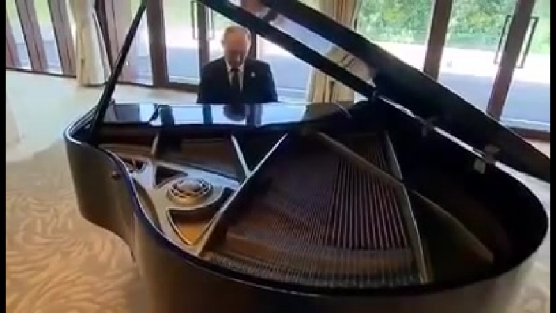 Putin Dolya Vorovskaya - Путин Доля воровская (Piano)