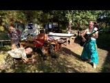 Наталья Котова с песней Полюшко на семинаре Родовая нить в Родовом поселении Ра ...