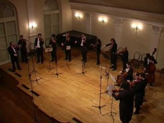 Bartok Divertimento played by I Solisti Di Zagreb, 2nd movement