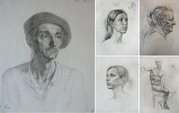 основы рисунка и живописи: