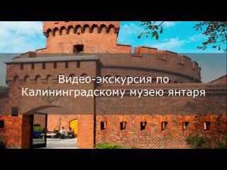 Видео-экскурсия по музею янтаря в Калининграде