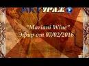 ARTураж онлайн-шоу. Mariani Wine