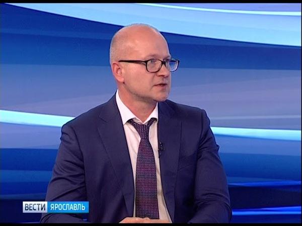 Гость студии «Вестей» - директор департамента охраны объектов культурного наследия Александр Филяев