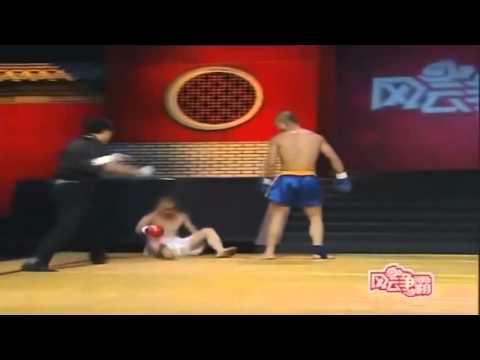 монах Шаолинь против кикбоксеров и прочих ударников