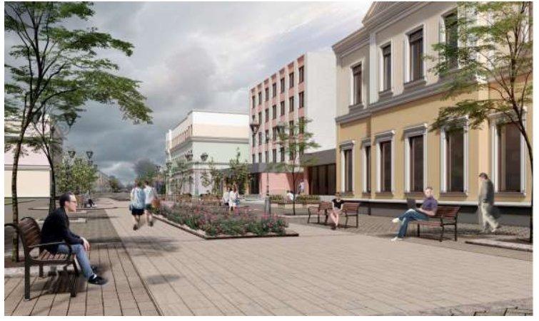 Улицу Пушкинскую в Бресте предлагают сделать пешеходной от площади Ленина до рынка