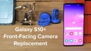 Samsung Galaxy S10 Front Facing Camera Replacement and Reassembly!