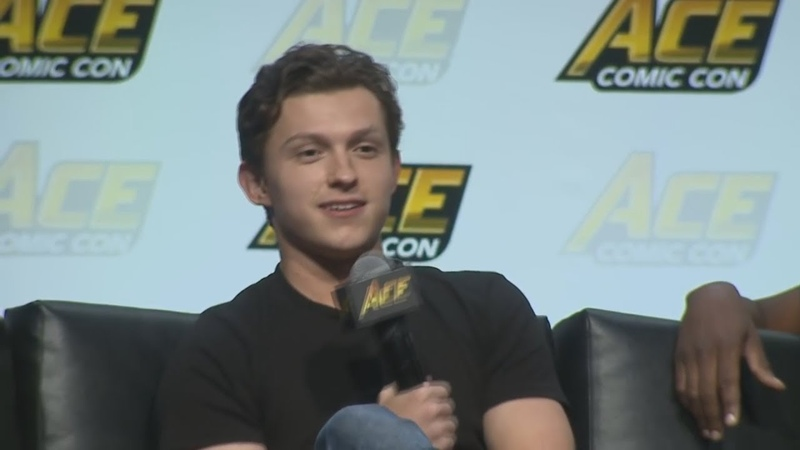 Tom Holland Making People Laugh 2
