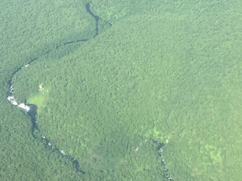 Вертолетная экскурсия. Водопад