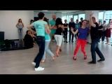 Открытый урок по salsa cubana, 14 июня 2018. Резюме