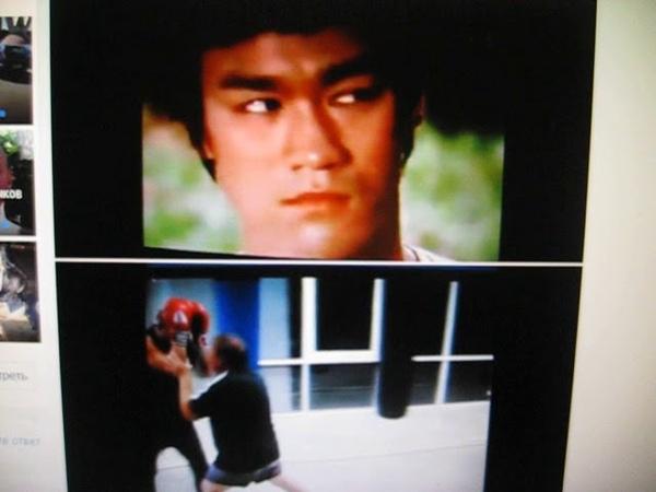 Легендарный Брюс Ли многое брал из бокса