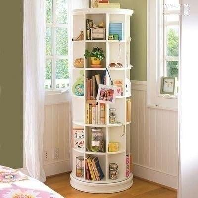 Вращающийся шкафчик - решение для маленькой квартиры