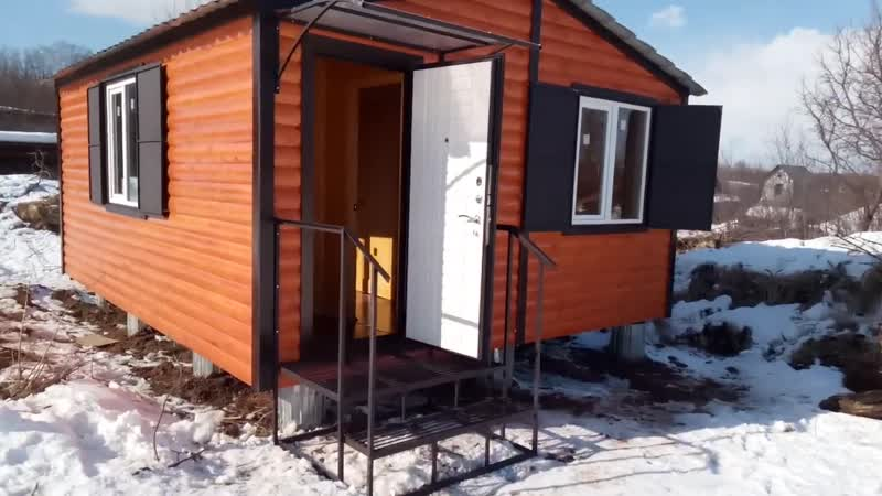 Модульный дом 6х5 для сада и дачи под ключ в Йошкар-Оле