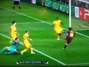 Barcelona 3 1 Arsenal 2011 Messi 1st goal 1 0 HD