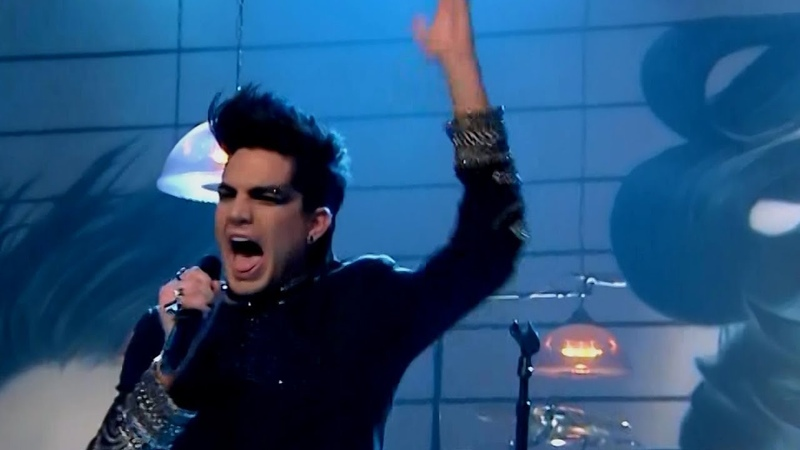 Adam Lambert - Sleepwalker (The Tonight Show With Jay Leno 2010)