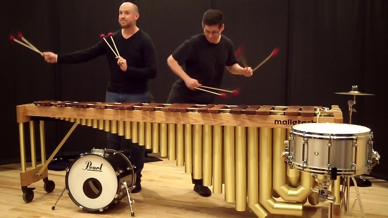 Peas and Carrots, a percussion duet by Kevin Bobo, performed by Adam Blackstock and Kevin Bobo.