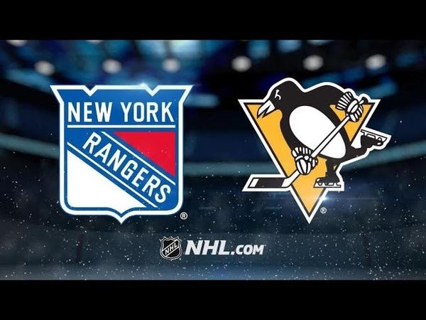 New York Rangers vs Pittsburgh Penguins   Feb.17, 2019   Game Highlights   NHL 2018/19   Обзор матча
