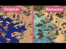 Age of Empires Original vs Definitive Edition Graphics Comparison Official Shots