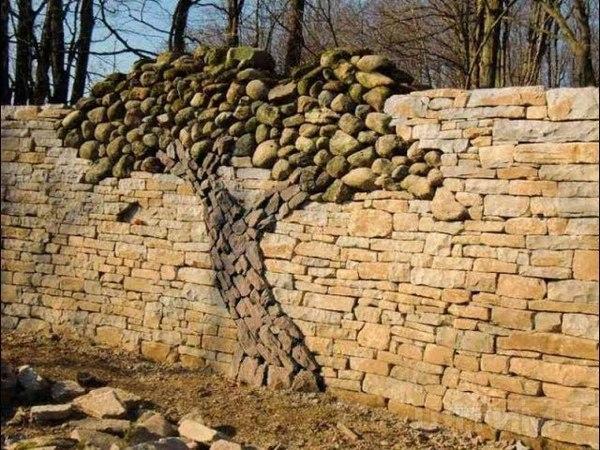Каменная кладка своими руками как укладывать природный натуральный камень