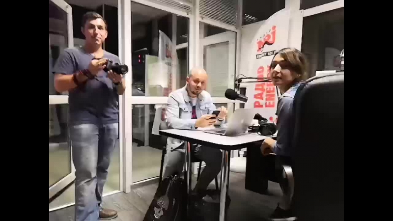 Дмитрий Долбилин на радио NRJ!