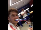 Сборная России после матча с Испанией на Чемпионате Мира 2018