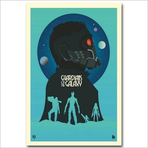 Постер Стражи галактики -