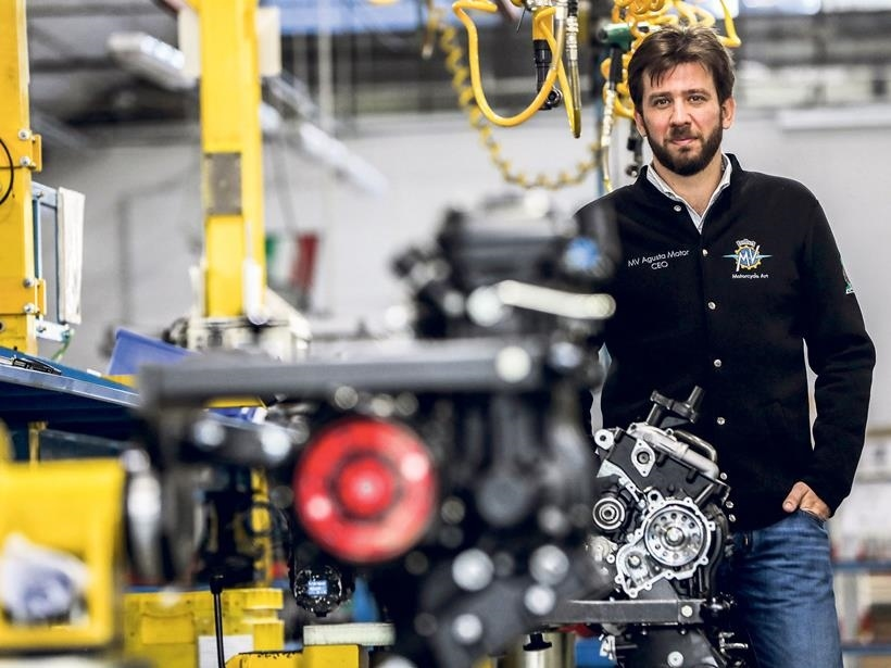 Генеральный директор MV Agusta подтвердил пятилетний план для супербайка F4