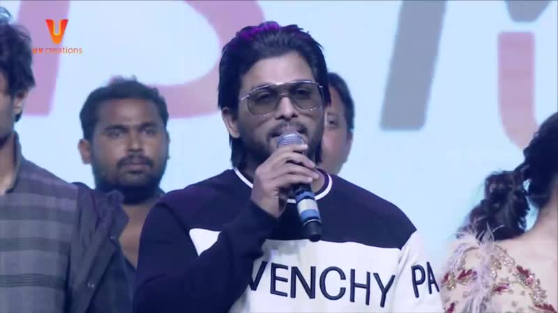 Allu Arjun Full Speech Taxiwaala Pre Release Event Vijay Deverakonda Priya