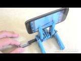 Подставка под смартфон/айфон/телефон/планшет из прищепок и ручки своими руками | Видеостенка