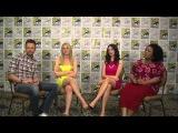 Comic Con 2012 - Joel McHale, Gillian Jacobs, Alison Brie and Yvette Nicole Brown talk 'Community' -