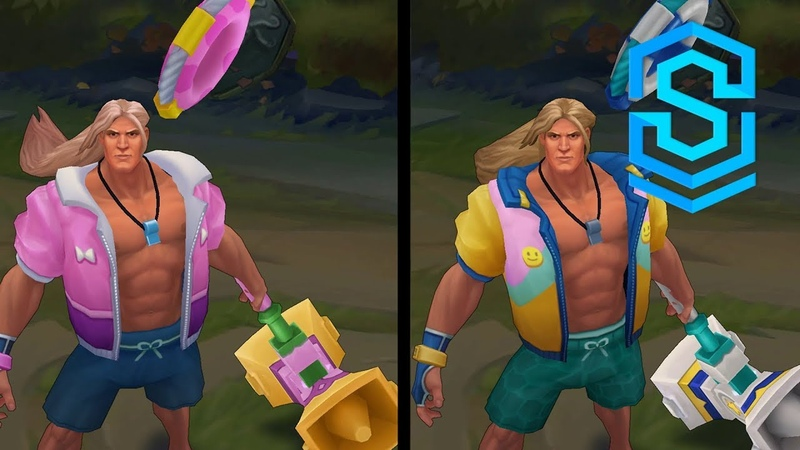 Pool Party Taric Chroma Skins