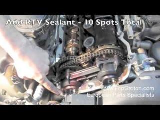 Замена прокладки клапанной крышки на BMW (E36, E46)