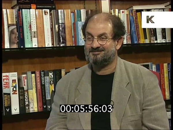 Salman Rushdie on the Moor's Last Sigh, 1995 Interview Rushes