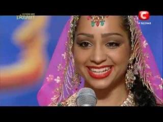 Очень Красивый Индийский Танец - Светлана ТУЛАСИ (Україна має талант 5)